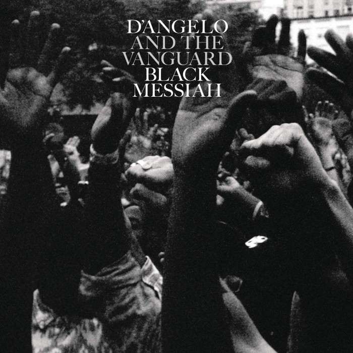 Album Art, D'Angelo and The Vanguard, Black Messiah. Photo taken at AFROPUNK Festival in Brooklyn, NY