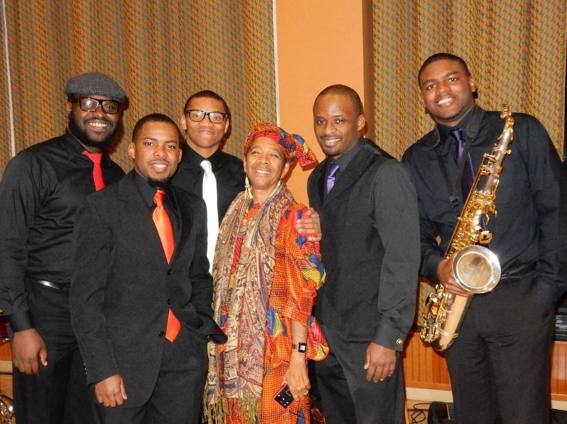 Soul Section, Penn State Black Graduate Student Association Kwanzaa Celebration 2014
